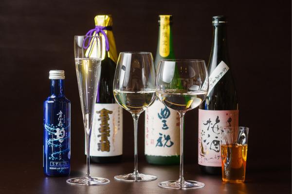 奈良の蔵元直送の限定酒と、滋味豊かな大和食材を堪能1