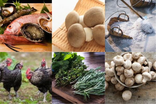 日本各地の旬な食材をその土地のストーリーとともに拘りの逸品に
