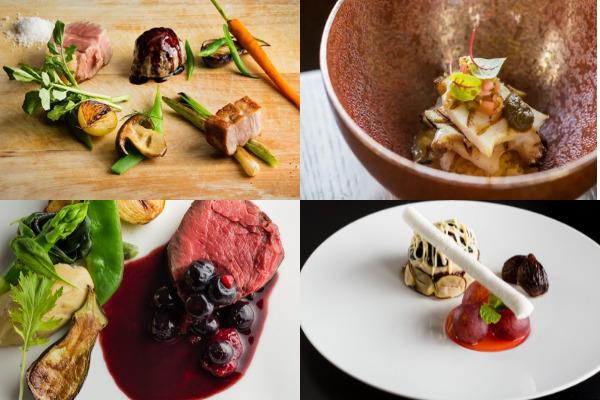 テロワール・エ・ナチュール〟がテーマの料理で、秋の味覚を愉しむ