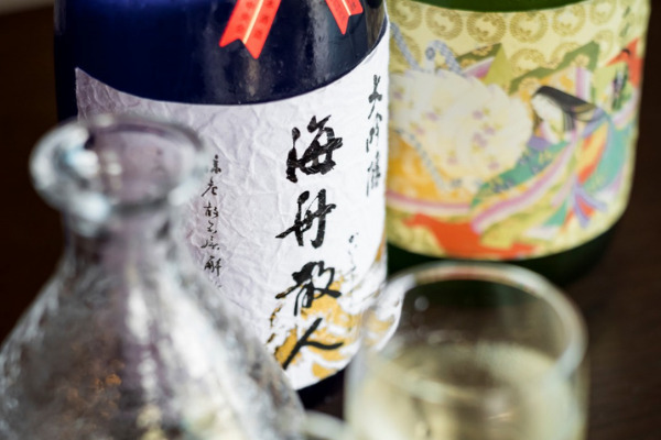佐原の蔵元直送の日本酒と味わう、発酵フレンチ1