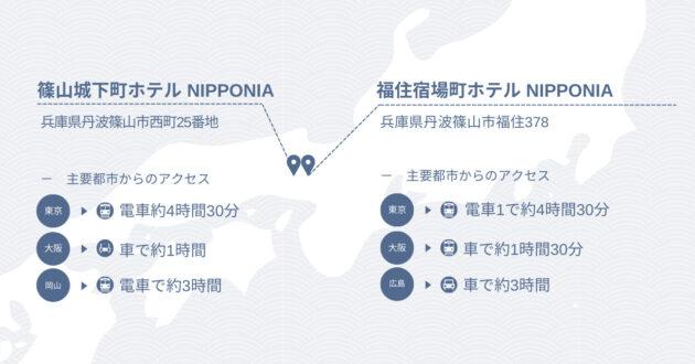 篠山アクセスMAP