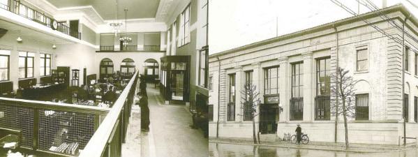 近代建築の粋を集めた復興のシンボル、国登録有形文化財の旧銀行1