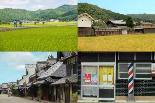 日本の里山の原風景が広がる宿場町〝丹波篠山市福住〟1