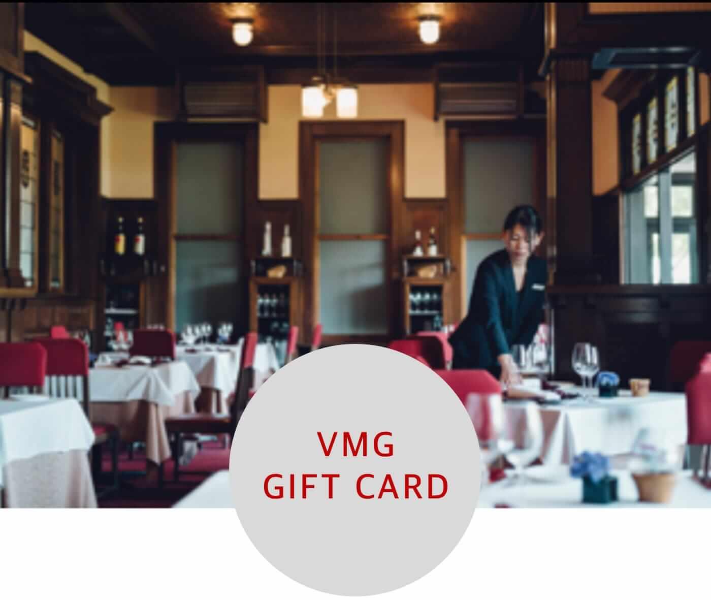 gift card  vmg hotels  unique venue