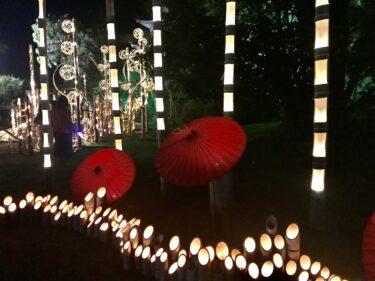 忍びの城下町・伊賀上野で竹あかりに照らされた町並みに癒される